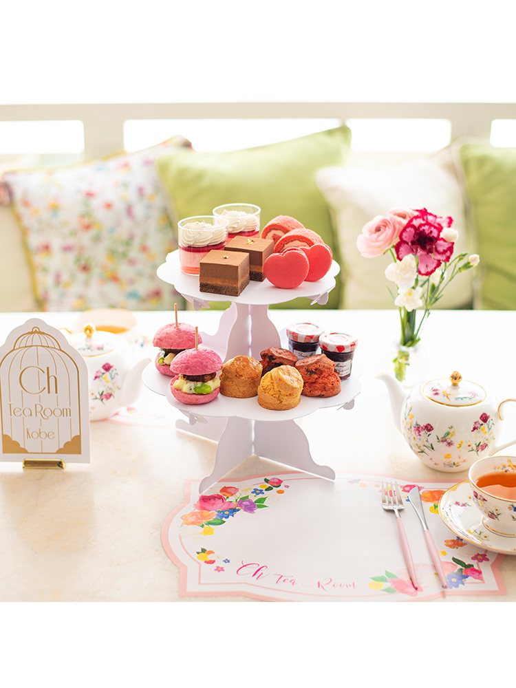 L'AVENUE × Sweet Home Afternoon Tea Set 2名様用(ペーパーアイテム付き)